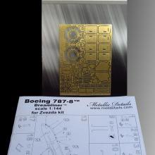 "MD14404 Detailing set for Zvezda kit ""Boeing 787-8 Dreamliner"""