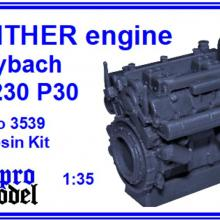 3539 PANTHER engine Maybach HL 230 P30