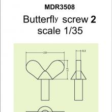 SMDR3508 Butterfly screw 2