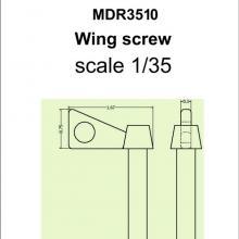 SMDR3510 Wing screw