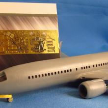 MD14424 Detailing set for aircraft model Boeing 737 MAX
