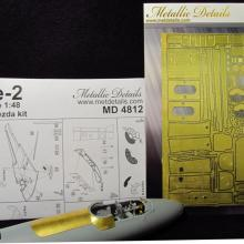 MD4812 Detailing set for aircraft model Pe-2