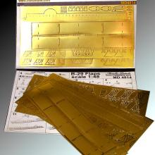 MD4814 Detailing set for aircraft model B-29. Flaps