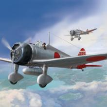 D5-01 IJN Type 96 carrier-based fighter II A5M2b Claude (late version) 1/48
