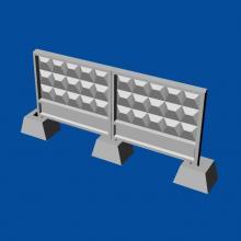 MDR7205 Russian concrete fence PO-3