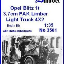 3501 Opel Blitz 1t PAK 37 mm Limber
