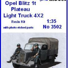3502 Opel Blitz 1t Plateau