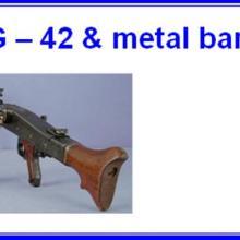 3505 MG-42 & metal barrel