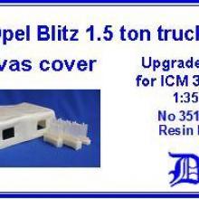 35103 Opel Blitz 1.5 ton Upgrade set for ICM 35401