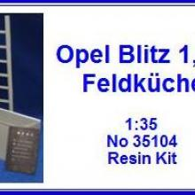 35104 OPEL Blitz 1.5 ton Detail set for ICM 35401