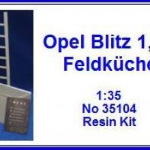 35104 OPEL Blitz 1.5 ton Detail set for ICM 35401