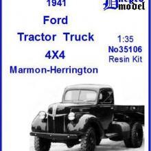 35106 Ford Tractor Truck 4X4 Marmon-Herrington 1941