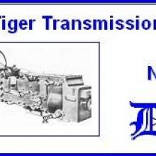 3513 King Tiger transmissions box
