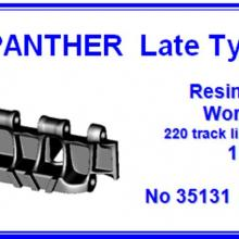 35131 Panther Late type Workable resin track