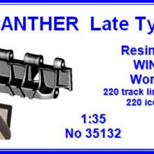 35132 Panther Late type Workable resin track Winter