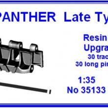 35133 Panther Late type Resin track Upgrade set