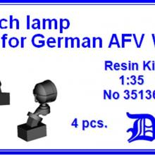 35136 Bosch lamp for German AFV WWII