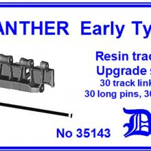 35143 Panther Late type Resin track Upgrade set
