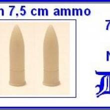 3516 German 75mm ammo