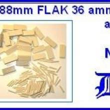 3518 German 88mm FLAK 36 ammo & ammo box