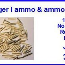 3520 88mm Tiger I ammo & ammo container