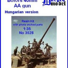 3528 Bofors 40 mm AA gun Hungarian version