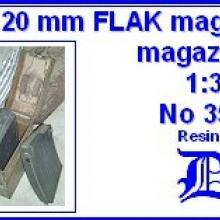 3533 German 20mm FLAK magazine & magazine box