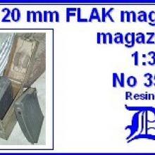 3533 German 20mm FLAK magazine & magazine box