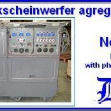 3545 8KW Flakscheinwerfer agregator