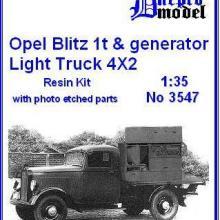 3547 Opel Blitz 1t & generator