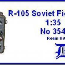 3548 Soviet R-105 field radio