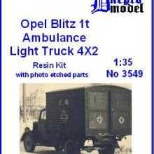 3549 Opel Blitz 1t Ambulance