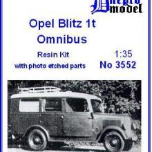 3552 Opel Blitz 1t Omnibus