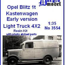3554 Opel Blitz 1t Kastenwagen Early version