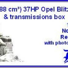 3560 1,5 l 1488 cm3 37HP Opel Blitz engine & transmissions box