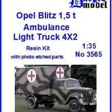 3565 Opel Blitz 1,5t Ambulance