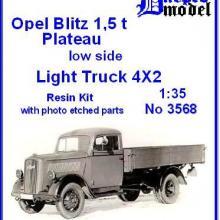 3568 Opel Blitz 1,5t Plateau low side