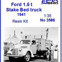 3586 Ford 1.5 ton Stake Bed truck 1941