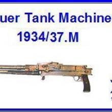 3588 Gebauer Tank Machine Gun 1934/37.M