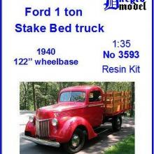 3593 Ford 1.0 ton Stake Bed truck 1940