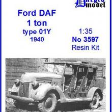 3597 Ford DAF 1.0 ton Type 01Y 1940