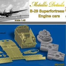 MD4805 Detailing set for aircraft model B-29. Engine cars