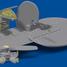 MD4803 Detailing set for aircraft Po-2/U2