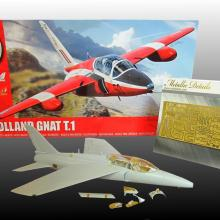 MD4808 Detailing set for aircraft model Folland Gnat T.1